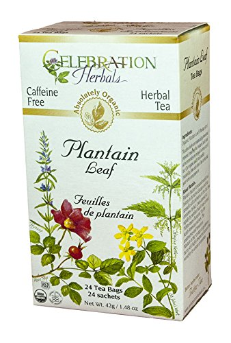 Celebration Herbals Organic Plantain Caffeine
