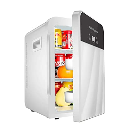 Portable Car Refrigerator 20 Liters Large Capacity Car Home Dual-Use Heating And Cooling Box Dual-Core Refrigeration Mini Fridge Temperature Adjustable