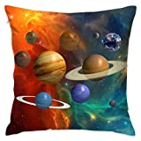 PLO Solar System Planets Space Sofa Cushions Case Couch Cushions Protectors Pillowcase