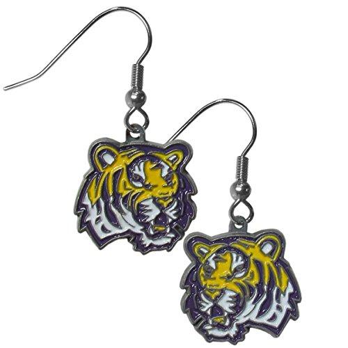 Lsu Tigers Game Day Earrings - Purchadise NCAA Team Logo Dangle Earrings (LSU Tigers)