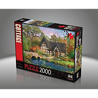Puzzle Da 2000 Pezzi Dominic Davison Il Ponte Stoney Cottage