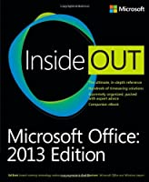 Microsoft Office Inside Out: 2013 Edition Front Cover