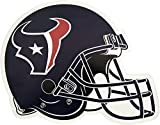 NFL Houston Texans Outdoor Small Helmet Graphic Decal