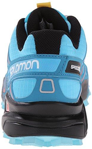 Salomon Damer Speedcross 3 Trail Løbesko, Blå, 42 Eu Blå (blå Azurin / Tåge Blå / Rød Strålende)