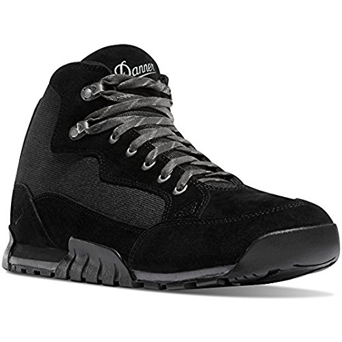Danner Skyridge Jet Black 4.5'' Sole Lifestyle Shoes | Waterproof Hiking Outsole Retro Waffle (12 D)