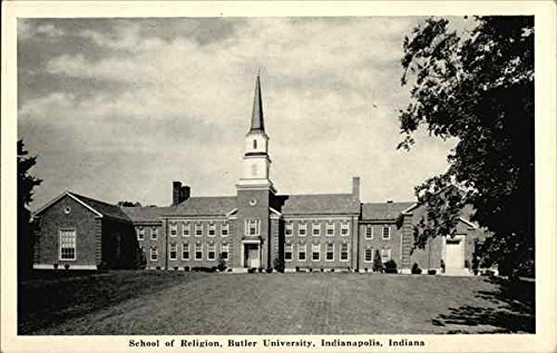 School of Religion, Butler University Indianapolis, Indiana Original Vintage Postcard from CardCow Vintage Postcards