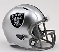 OAKLAND RAIDERS NFL Riddell Speed POCKET PRO MICRO / POCKET-SIZE / MINI Football Helmet