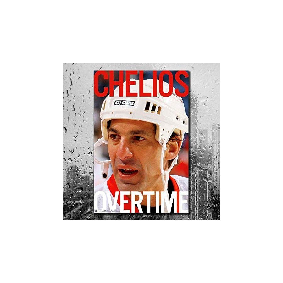 Chris Chelios OVERTIME Hardcover Book