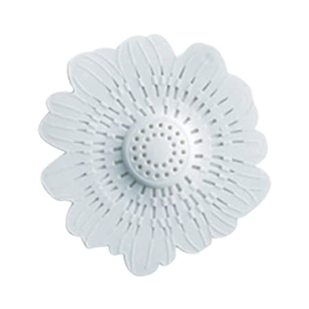 Available in 4 Colours Vinsani Flower Sink Plug Drain Strainer