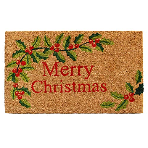 Calloway Mills 121022436 Merry Christmas Doormat, 24