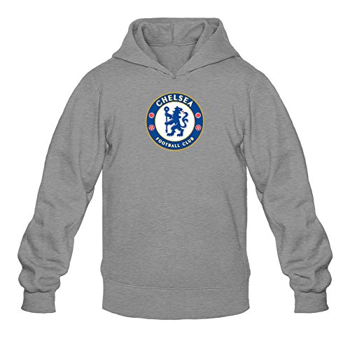 XIULUAN Men's Chelsea Football Club Logo Hoodied Sweatshirt XXL ColorName Long Sleeve