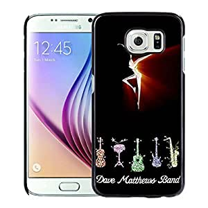 Beautiful Designed Case With dave matthews band fire dancer Black For Samsung Galaxy S6 Phone Case