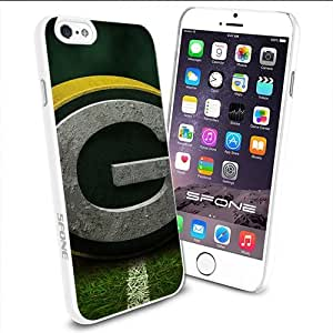 Green Bay Packers Logo Apple Smartphone iPhone 6 4.7 inch Case Cover Collector TPU Soft White Hard Cases by runtopwell