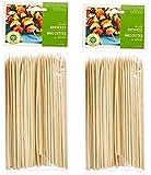 Fox Run Brands Bamboo Skewers, 6-inch (100 Pieces) (Brown, 2)