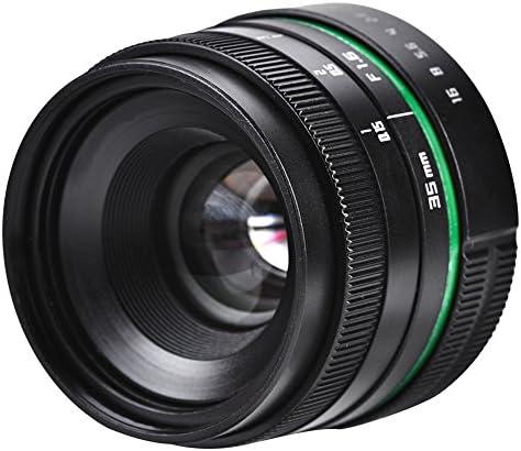 Acouto Lente Fija, 35mm F/1.6 CCTV Lente de la Cámara Objetivo ...