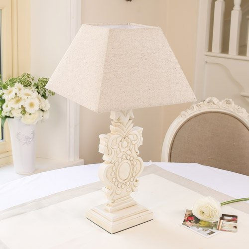 Traditional French Table Lamp With Shade