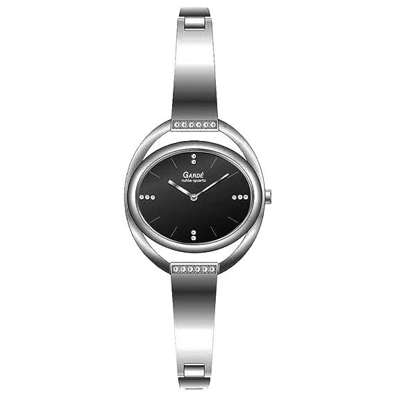 Reloj de pulsera para mujer moderno Gardé by Ruhla Elegance 20206 de acero inoxidable: Amazon.es: Relojes