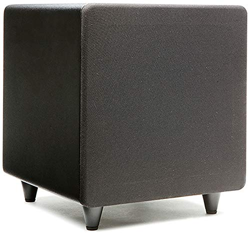 """(Orb Audio: subMINI Subwoofer - 9"""" Cube - Dual High Velocity Ports - 50 Clean Watts of Class D Power - Adjustable Crossover and LFE Setting - Fast, Accurate Bass)"""