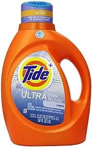 Tide Ultra Stain Release High Efficiency Liquid Laundry Detergent - 92 oz - Original