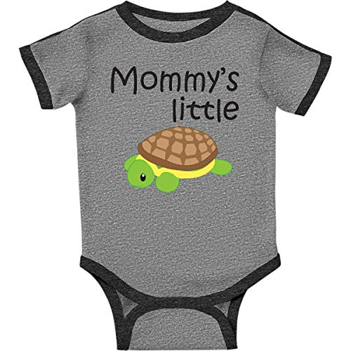 inktastic - Mommy's Infant Creeper 18 Months Ringer Heather and Smoke 1827f