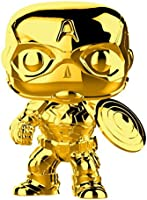 Funko, Figura Coleccionable Capitan America, Marvel Studios, Oro