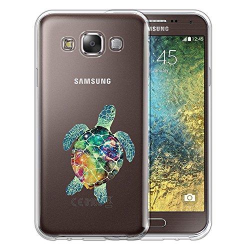 Silicone Soft Case for Samsung Galaxy E5 (Clear) - 5