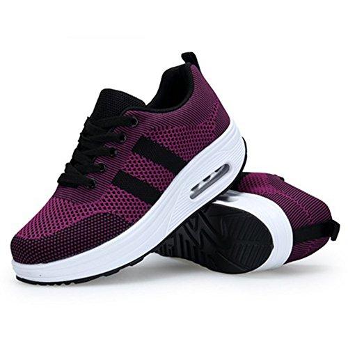 Zapatos Gimnasia de On Casuales Zapatillas CAI Tenis Fitness para de Zapatillas relajantes Caminata Slip de Zapatos Mujeres para Mujeres tal Comfort SYf4d4xwq