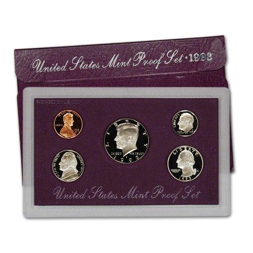 1993 S US Mint Proof Set (United States Mint Proof Set 1992)