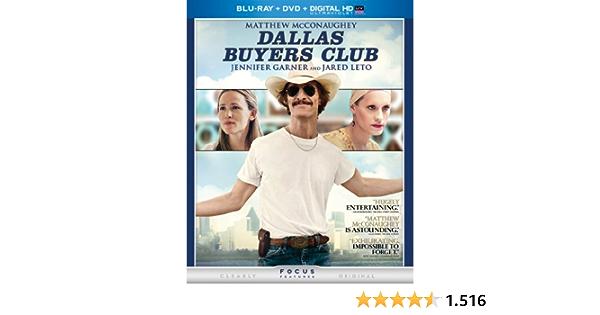 Dallas Buyers Club Edizione: Stati Uniti USA Blu-ray: Amazon ...
