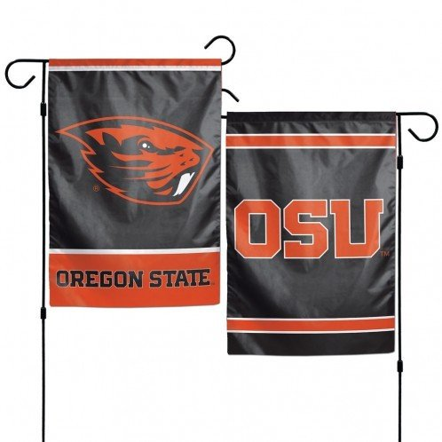 NCAA Oregon State University 12x18 Inch 2-Sided Outdoor Garden Flag Banner - Two Sided Banner Flag