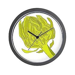 CafePress Artichoke Wall Clock Unique Decorative 10 Wall Clock