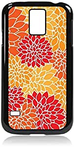 meilz aiaiFlower Blooms - Case for the Galaxy S5 i9600- Hard Black Plastic Snap On Casemeilz aiai