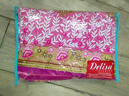 Delisa Fashion Ethnic Designer Bollywood Party Wear Pakistani Indian Saree tirupati by Delisa (Image #4)