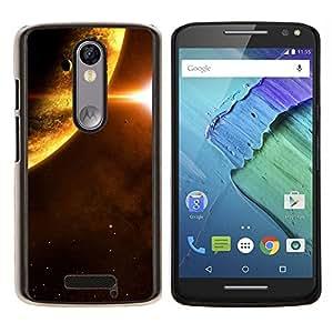 EJOOY---Cubierta de la caja de protección para la piel dura ** Motorola Moto X3 3rd Generation ** --Espacio Planet