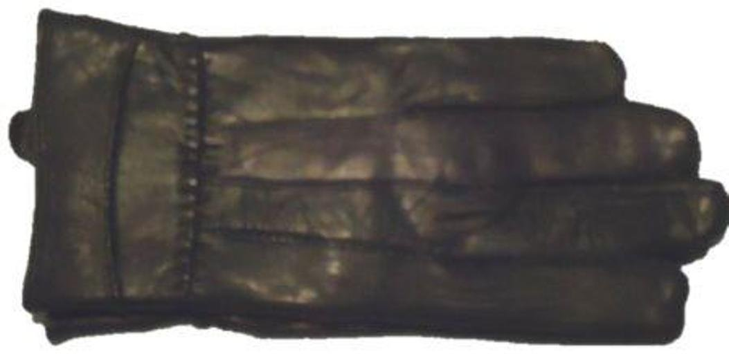 Black Soft Leather Very Soft and Luxurious Looking Gloves for Women Size Large