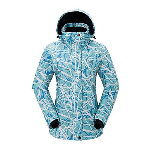 Deylaying ファッション 冬 スポーツ 職業 スキー スノーボード ジャケット コート 防水 防風 暖かい ために 大人の女性 B077RS7365 XL|Color 9 Color 9 XL