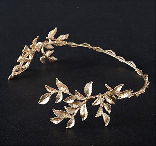 Gold Leaves Bridal Crown...