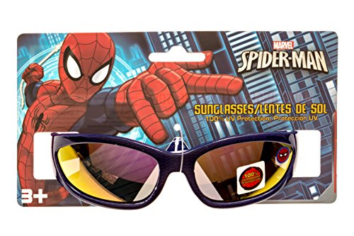 Marvel Spider-Man Kid's Sunglasses in Navy Blue 100% UV - Sunglasses Kids Spiderman