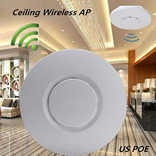 300Mbps Ceiling AP 802.11b/g/n Wireless Access Point POE Coverage Router long range wifi Repeater Antenna for hotel/Home WIFI