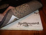 Carpenter, 10'x14', 1/2'' Visco- Elastic Memory Foam, Spillguard DuPont Barrier Rug Pad