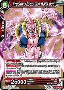Amazon.com: Dragon Ball Super TCG - Prodigy Absorption Majin ...