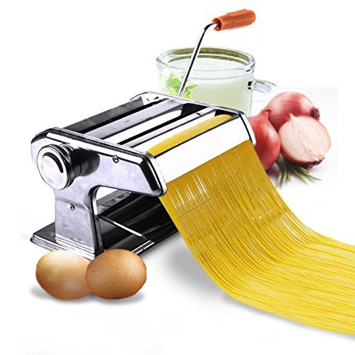150mm 6 Pasta Maker & Roller Machine Noodle Spaghetti&Fettuccine Maker Health by Unbranded from Unknown