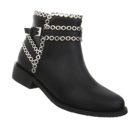 Damen Schuhe Stiefeletten   Ankle Ankle Ankle Booties   Blockabsatz Kurzschaft ... 26ce85