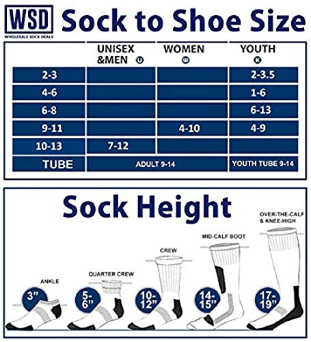 WSD Mens Ankle Socks, Wholesale Bulk Pack Athletic Sports Sock (180 Pairs Gray) by Wholesale Sock Deals (Image #2)