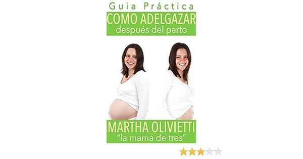Como perder peso despues de tener un bebe