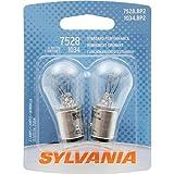 SYLVANIA 7528 Basic Miniature Bulb, (Contains 2 Bulbs)