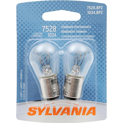 1989 Volkswagen Cabriolet Brake - SYLVANIA 7528 Basic Miniature Bulb, (Contains 2 Bulbs)