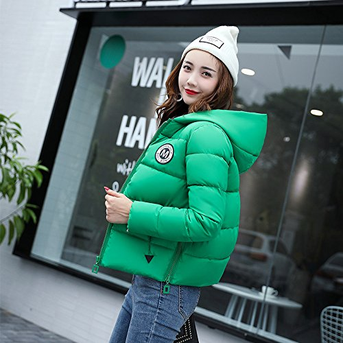 Cotton Cotton Green Small Short Of Winter Women Cotton Clothes Bread Feather Collections Coat Xuanku Fall To And Jacket 6qCTBX