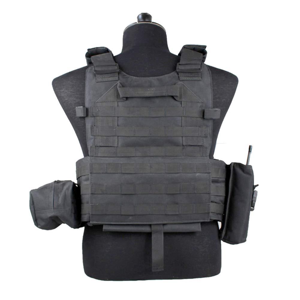 DENGENHUI Outdoor-Schutz Luftgewehr Weste Brustschutz Taktische Weste Multifunktion Spezialeinheiten Militärischer Drill CS Kampf