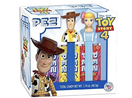 PEZ Candy Toy Story 4 Gift Set Woody & Bo Peep